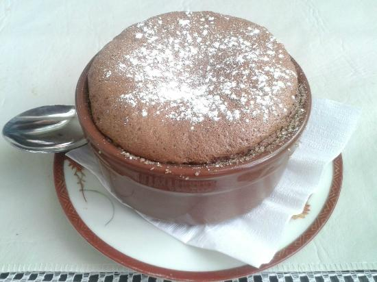 UMAMI: Souffle de Chocolate, bomba