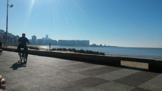 Rambla de Montevideo: em pocitos
