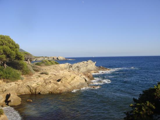 Ile des Embiez: Les rochers