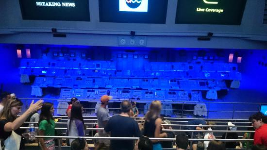 NASA Kennedy Space Center Visitor Complex: Control room