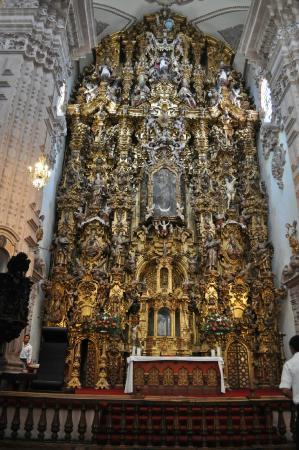 Santa Prisca de Taxco: Иконостас