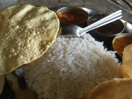 New Agarawal Bhavan: South Indian Thali