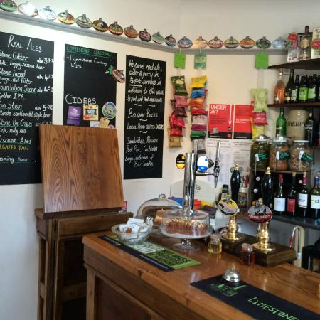 The Borehole: lots of choice on the bar