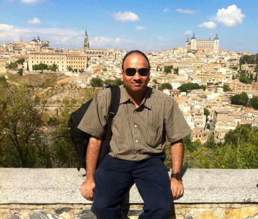 Toledo City Tour: Wit Toledo city as a backdrop