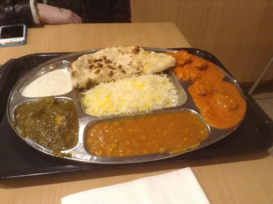 Flora Indian Restaurant: $12.50. Enough for 2 of us!