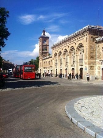 Toledo City Tour: Toledo Railway Station, a UNESCO Heritage Site