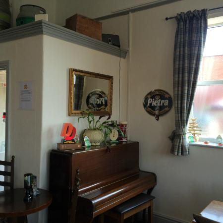 The Borehole: Our piano in the main room