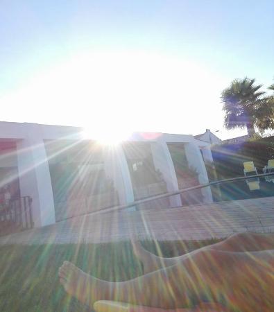 Herdade Da Diabroria: Pool view