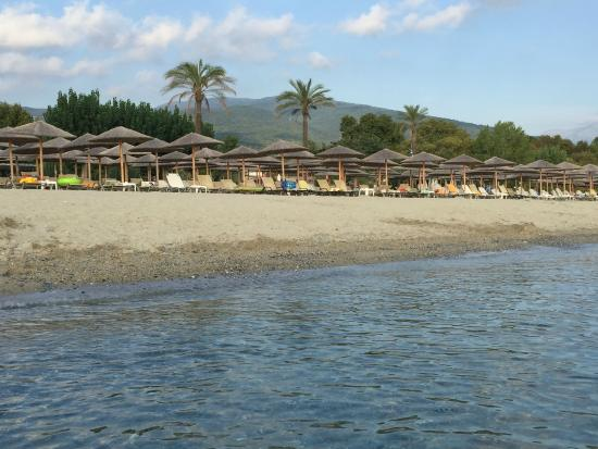Cronwell Platamon Resort: пляж