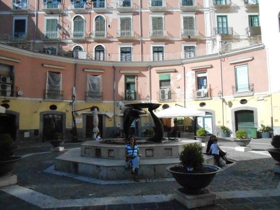 Salerno, Italia: Fontana