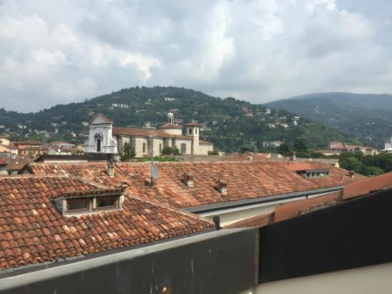 Centro Paolo VI: Vue depuis le balcon d'une chambre au 3ème