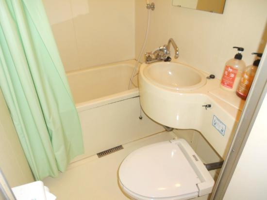 Isawa View Hotel: ห้องน้ำสะอาด ขนาดกำลังดี