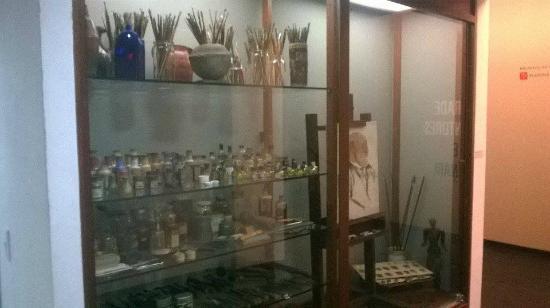 Museu Lasar Segall: Material do Artista