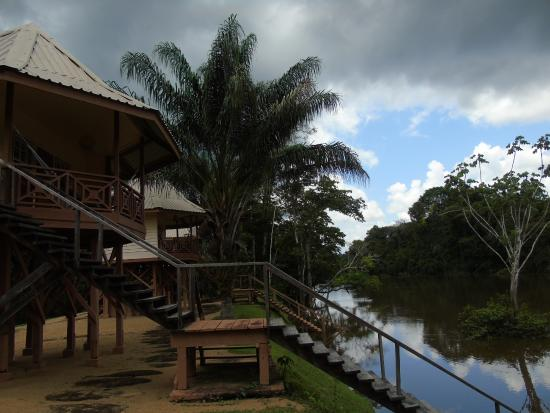 Kabalebo Nature Resort: The river cabins