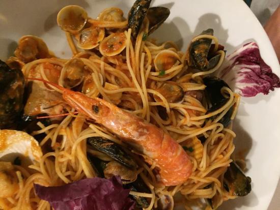 Ristorante Pizzeria Astro: Spaghetti marinara... Mniam !!!