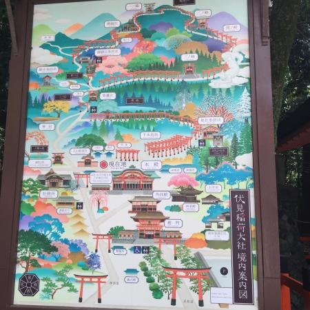 Fushimi Inari: When you go during summer, you have to prepare lots of water. But Japanese shaved ice dessert is