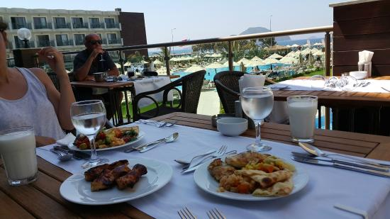 Labranda Bodrum Princess & Spa: Вкусное питание