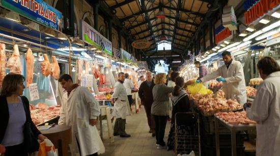 Central Market: O mercado de Atenas