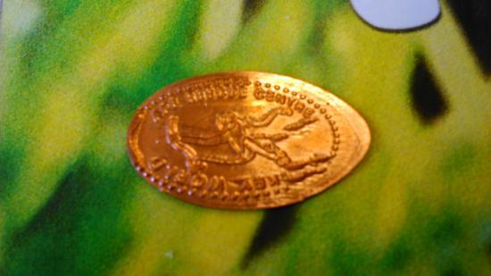 Monkey World: coin press keepsake x x