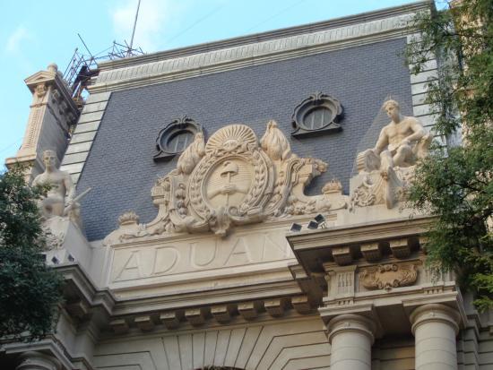 Aduana de Buenos Aires: Escudo