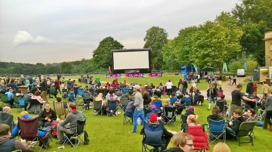 Wollaton Hall and Park: Screening