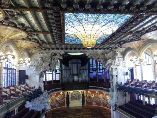 Palau de la Musica Orfeo Catala: Interior