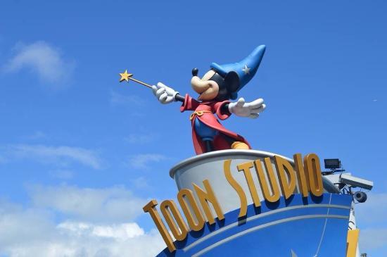 Disneyland Park: Mickey en estudios.