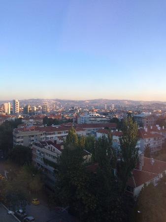 Ankara Hilton SA: View from the hotel