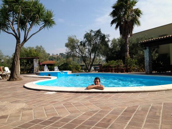 Villa le Macine: La piscina