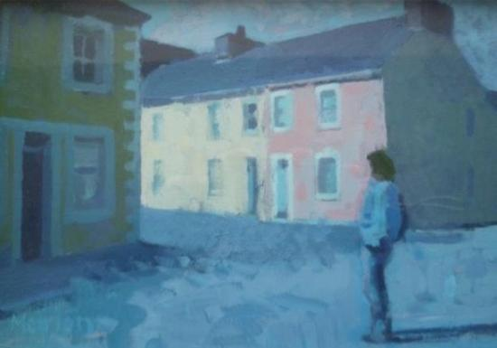 Awen Teifi: Aneurin Jones & Meirion Jones' paintings