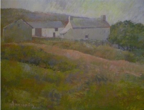 Awen Teifi: Aneurin Jones & Meirion Jones' paintings