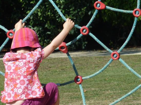 Parc Césarine: jeux pour enfants