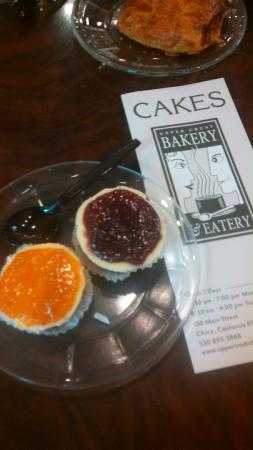 Upper Crust Bakery: CHEESE CAKES - APRICOT & RASPBERRY