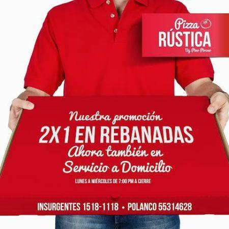 Pizza Rústica condesa: pizza rustica