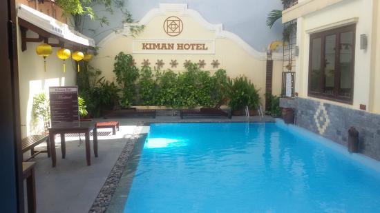 Kiman Hoi An Hotel & Spa: piscina
