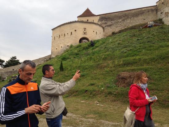 Rasnov Citadel: View of Rasnov