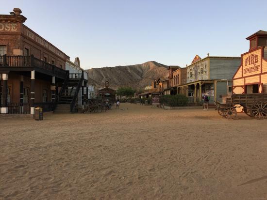 Oasys MiniHollywood: Vistas del poblado del oeste