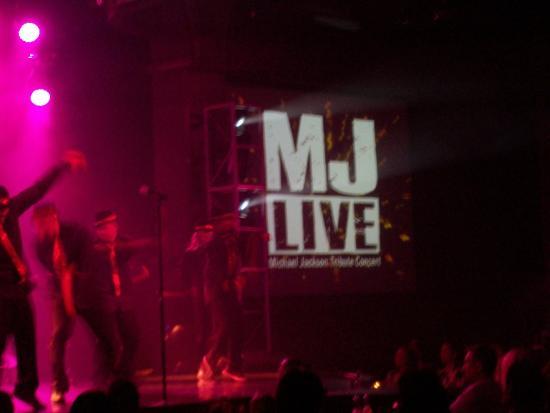 MJ Live: screen