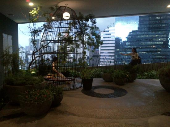 Emporium and EmQuartier: Garden views