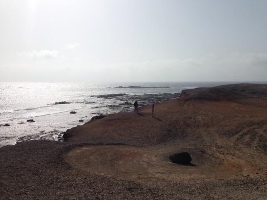 Playa de Cofete: Piccolo cimitero