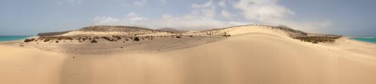 Playa de Cofete: Strada