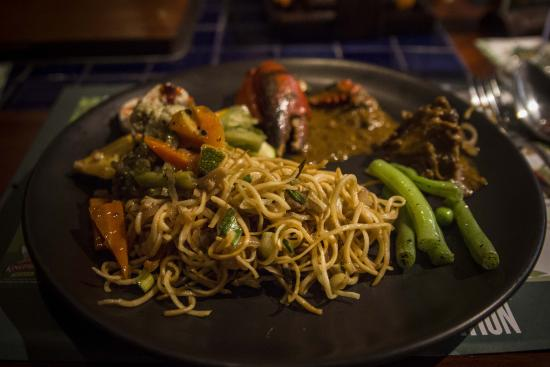 Barbeque Nation Hospitality: The main course meal
