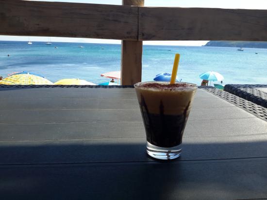 Spiaggia di Norsi: Caffè sulla spiaggia