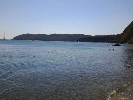 Spiaggia di Norsi: Acqua cristallina
