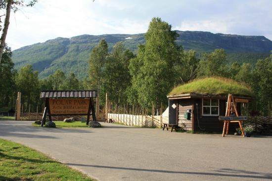 Polar Park: Framsidan av parken