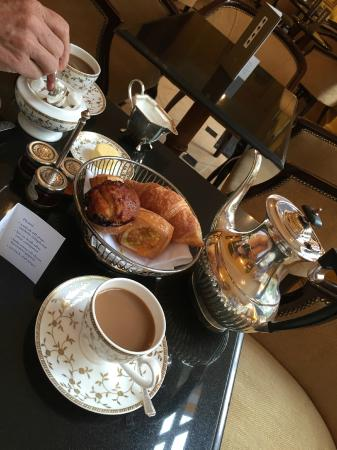 The Goring: Our last breakfast before checking out