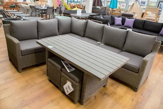 Stewarts Garden Centre: An outdoor furniture suite at Stewarts Christchurch