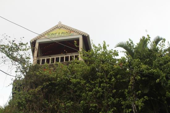 Scout's Place Restaurant & Bar: La terraza del amor