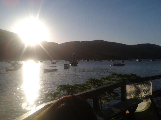 Che Lagarto Hostel Ilha Grande: en el desayunador... zona wi fi