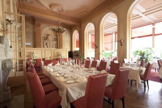 Grand Hotel Plombieres Les Bains: Restaurant